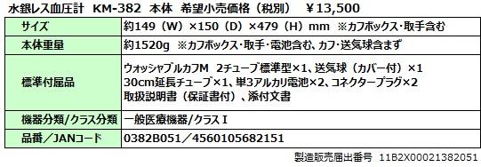 KM382本体